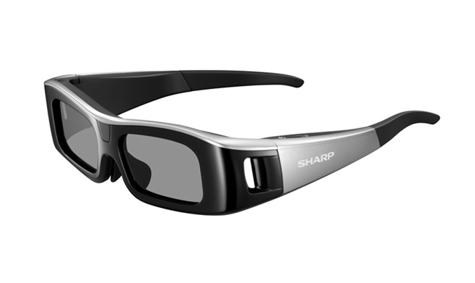 Sharp 3D glasses