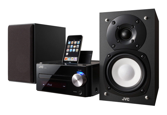 JVC UX-J51 CD Micro Audio System with iPod dock