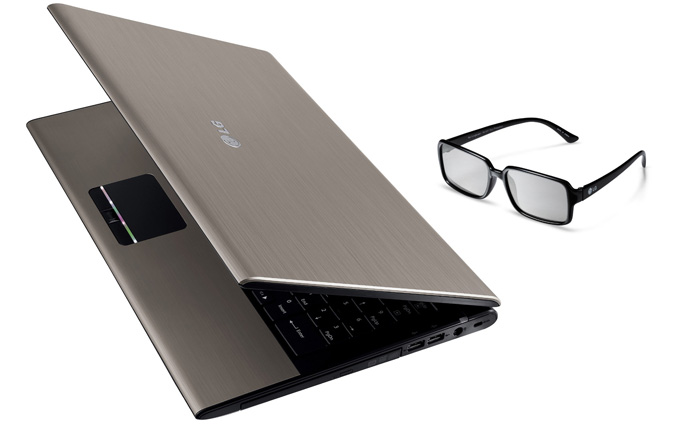 LG unveils 15.6-inch A510 3D notebook
