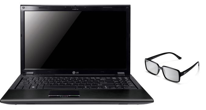 LG A510 3D notebook