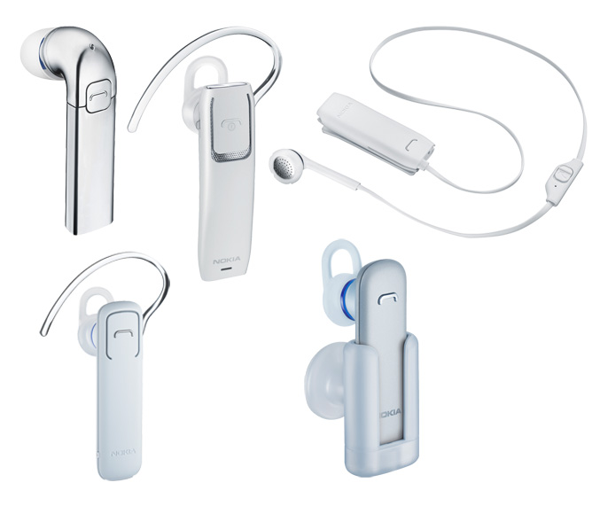 Nokia announced Charging Plate and new range of Bluetooth Headsets