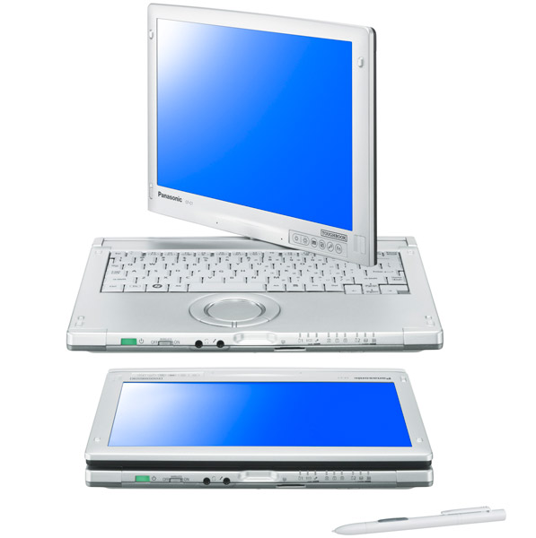 Panasonic Toughbook CF-C1 convertible tablet notebook