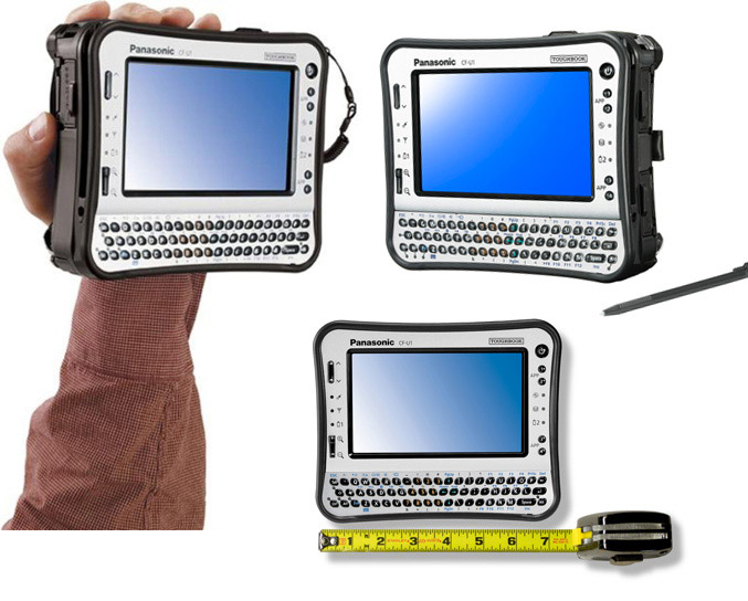 Panasonic Toughbook U1 Ultra rugged tablet PC