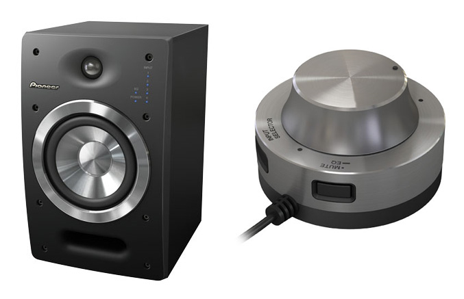 Pioneer debuts active reference DJ speakers