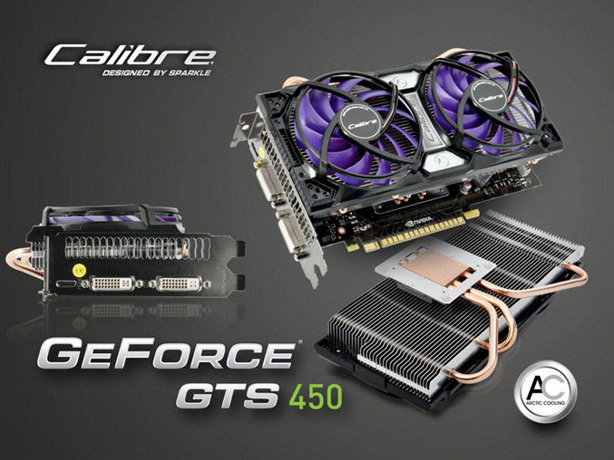 Calibre X450G graphics card