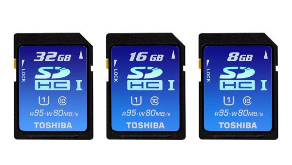 Toshiba SDHC UHS-I Cards