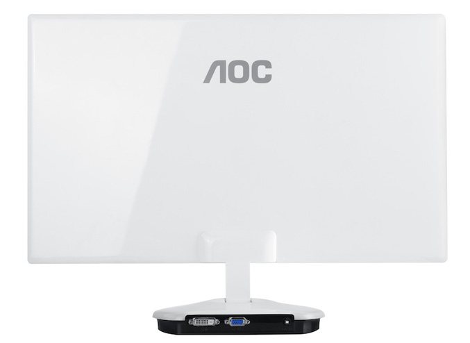 AOC's new ultra-thin LED-backlit monitors