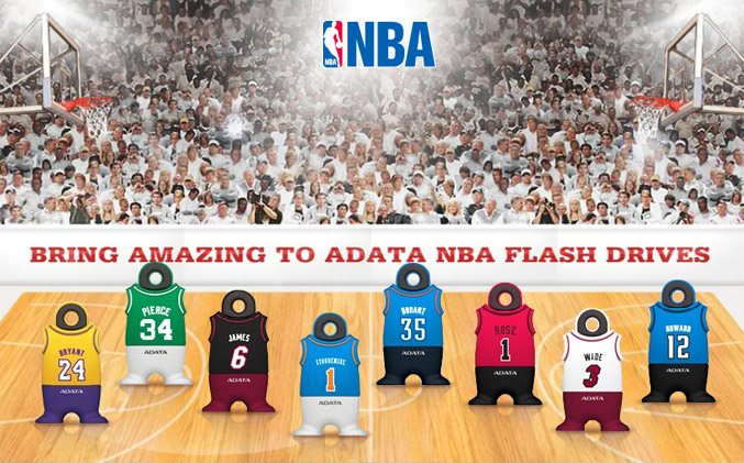 Adata NBA flash drives