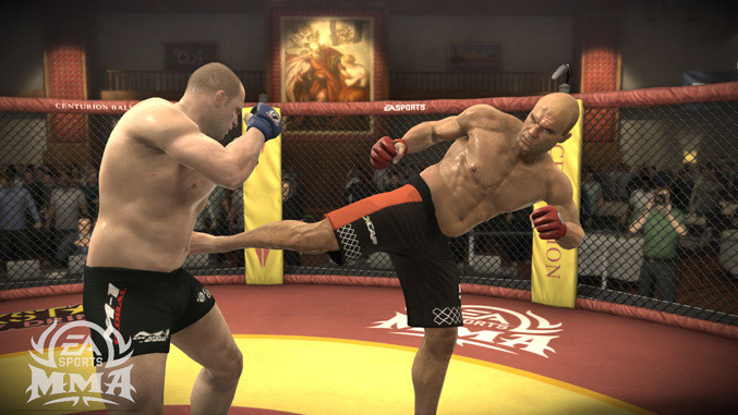 EA Sports MMA available