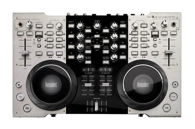 Hercules New The Dj Console 4 Mx For Pro Djs