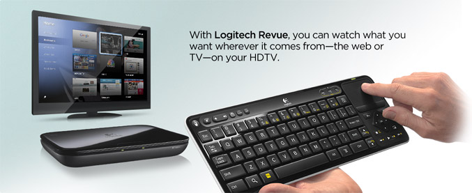 Logitech brings all you need for Google TV
