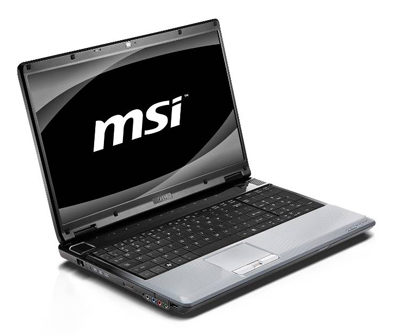 MSI GE603 gaming notebook