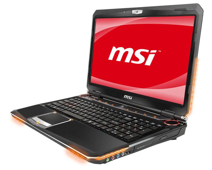 MSI GT663 gaming laptop