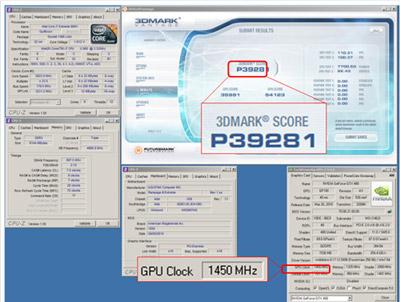 MSI N480GTX Lightning 3DMark record