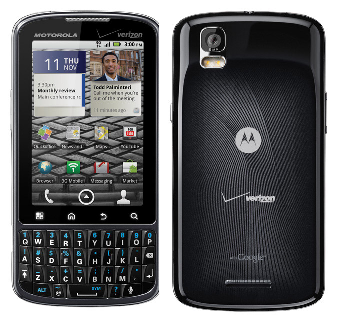Motorola Droid Pro comes for business