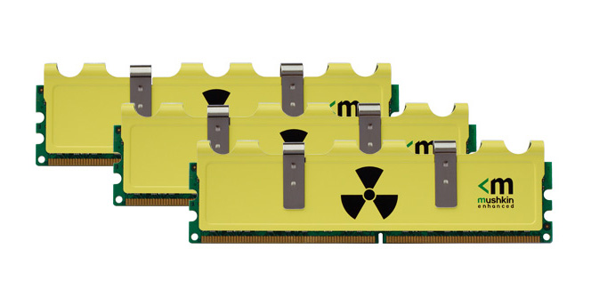 Mushkin Radioactive Series Memory Kits