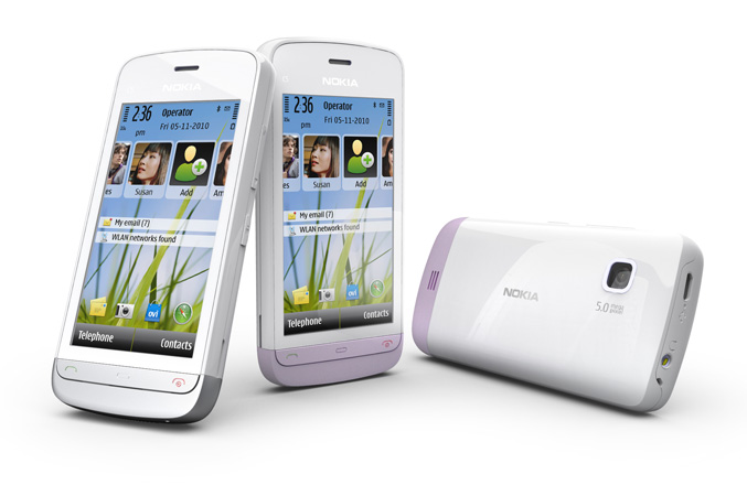 Nokia C5-03 White