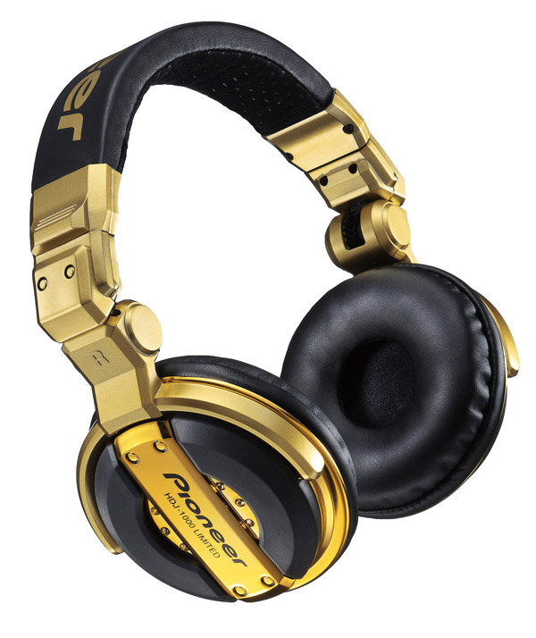 Pioneer HDJ-1000-G DJ Limited Edition Headphones
