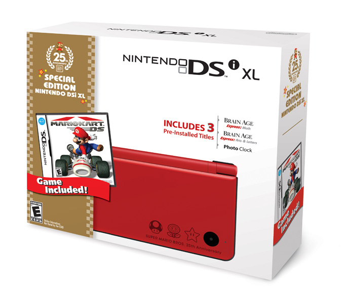 Red Nintendo DSi XL Bundle