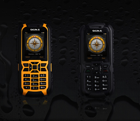 Seals VR7 All-Weather rugged mobile phone