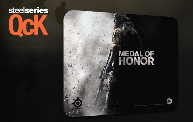 SteelSeries announced Medal Of Honor Licensed gaming peripherals
