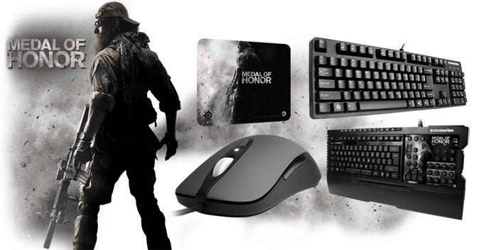 SteelSeries Medal Of_Honor gaming peripherals