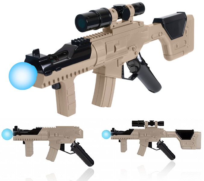 Submachine Gun and Aim Pistol for PlayStation Move