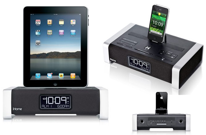 iHome iA100 Bluetooth Stereo System for iPad, iPhone and iPod