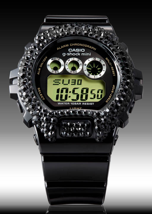Casio revamps G-Shock Deco-G with Crystals