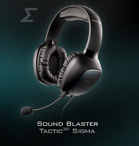 CREATIVE SOUND BLASTER TACTIC3D RAGE USB