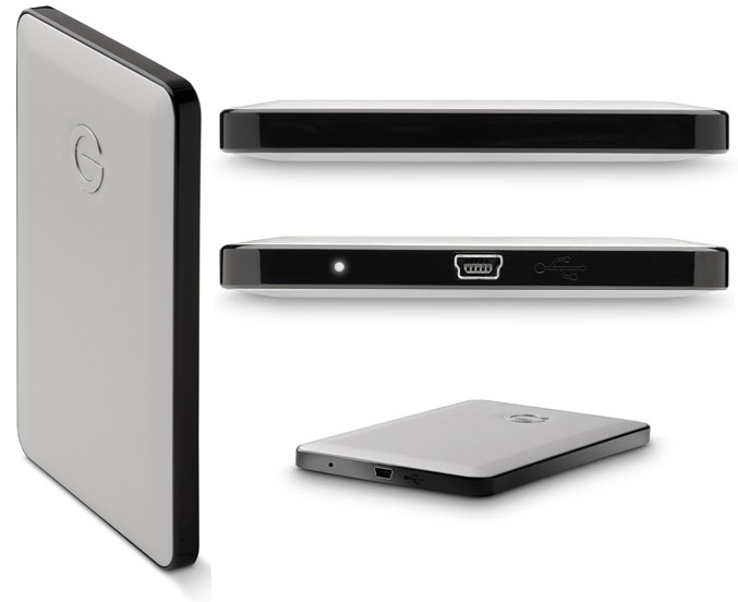 G-DRIVE slim USB external hard drive for Apple MacBook