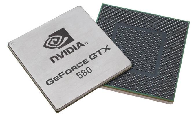 GeForce GTX 580 chip