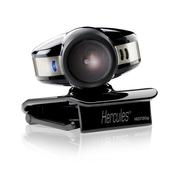 Hercules introduces the Dualpix HD720p Emotion webcamera