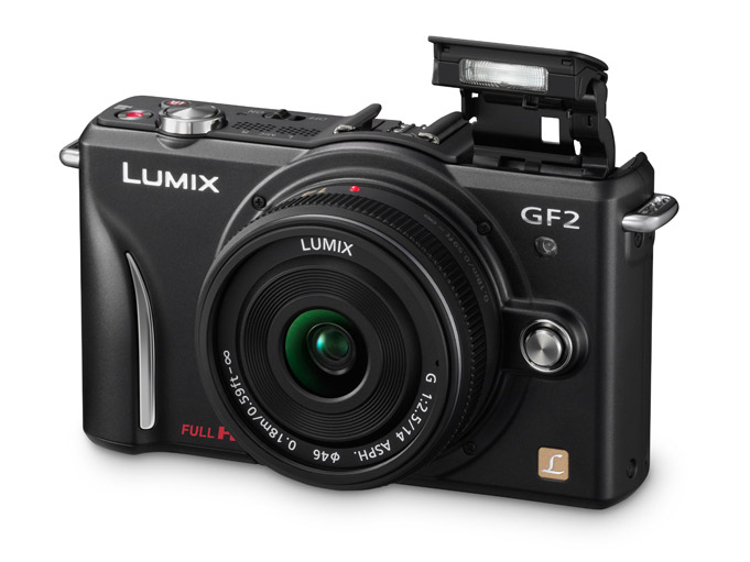Panasonic annonced LUMIX GF2 Micro Four Thirds camera