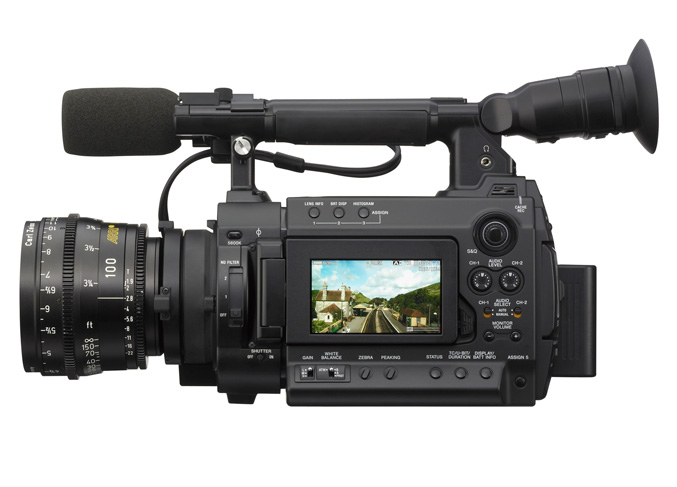 Sony announced 35mm PMW-F3 camcorder