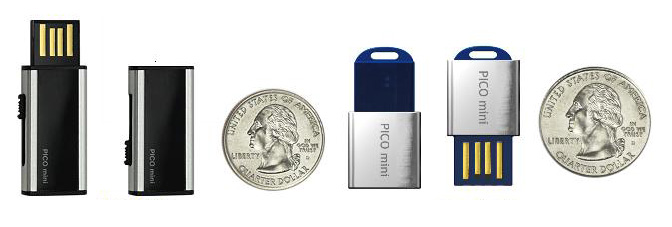 Super Talent Pico Mini D and Pico Mini C USB flash Drives