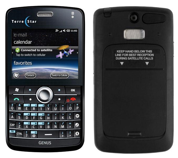 TerreStar Genus satellite phone