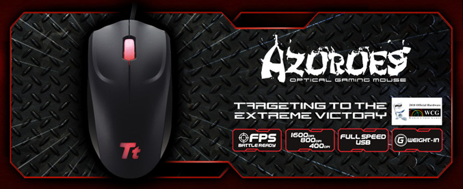 Tt eSPORTS Azurues Optical Gaming Mouse