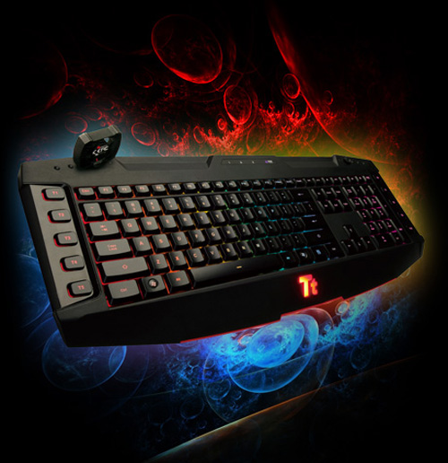 Tt-eSPORTS Challenger Ultimate gaming keyboard