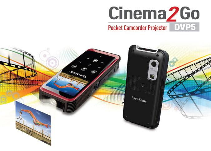 ViewSonic DVP5 Pocket Camcorder Projector