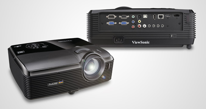 ViewSonic intros Pro8200 home theater projector 