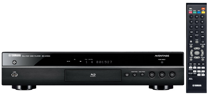 yamaha bd a1000 universal blu ray player. Black Bedroom Furniture Sets. Home Design Ideas
