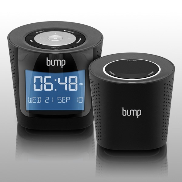 BUMP Digital MP3/FM Radio Boombox with Remote Wireless Speaker(AWS01F)