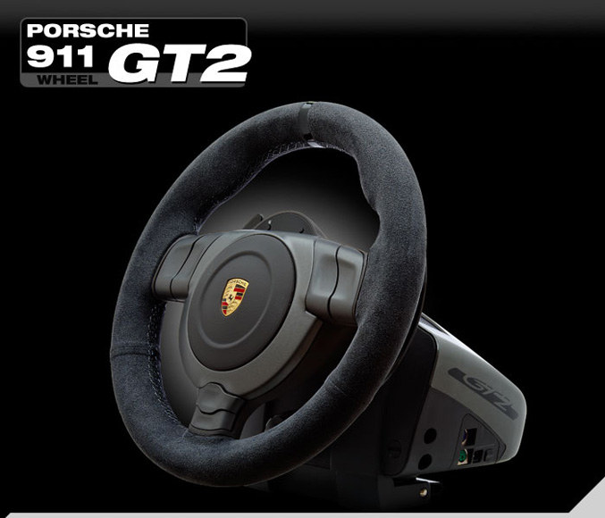 Fanatec Porsche 911 GT2 racing wheel