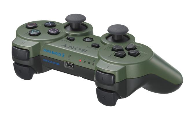 Jungle Green DS3 controller