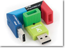Kingston colorful DataTraveler Mini G2 USB flash drives