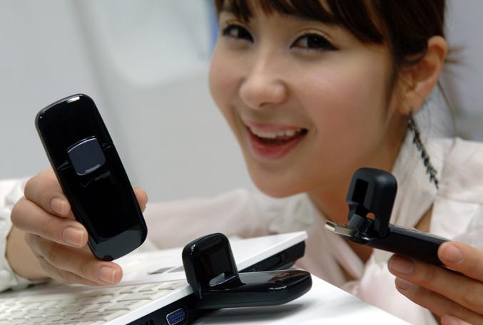 LG VL600 4G LTE USB modem