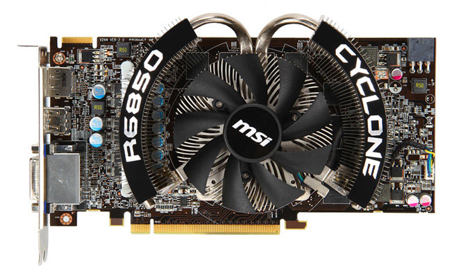 MSI R6850 Cyclone 1GD5 Power Edition
