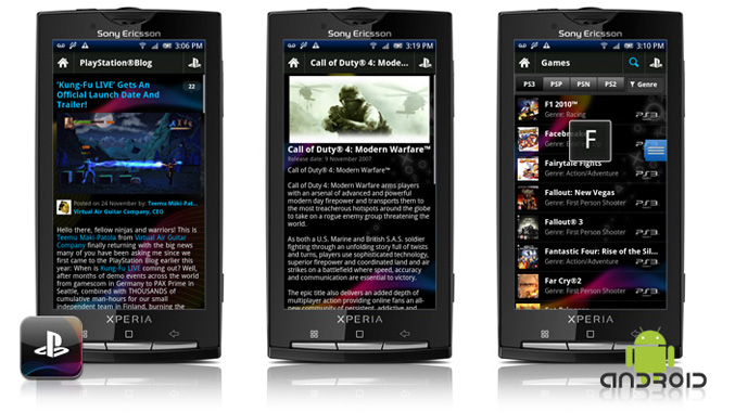 Official PlayStation App for Android