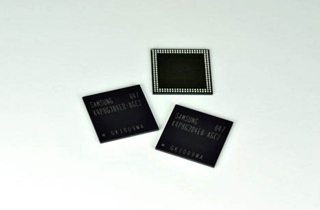 Samsung LPDDR2 DRAM 30nm chips